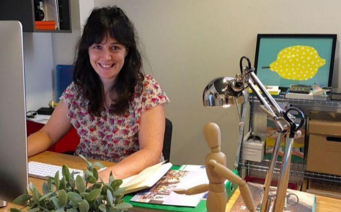 Isabel María Llorente, ingeniera forestal y socia de Maderea.