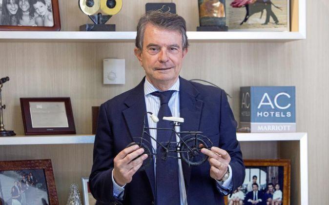 Antonio Catalán,fundador y presidente de AC Hotels by Marriott.