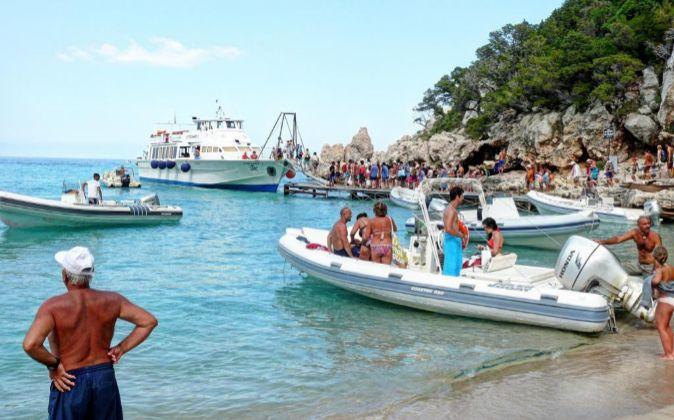 Isla de Cerdeña.