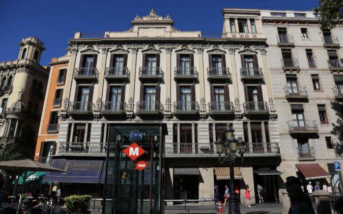 Hotel Internacional en Ramblas, Barcelona.