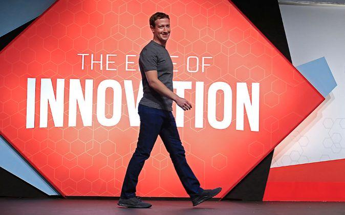 Mark Zuckerberg, cofundador, presidente y consejero delegado de...