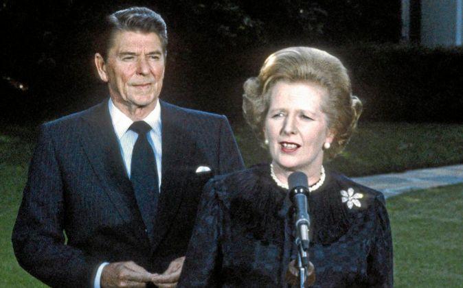 Reagan y Thatcher fueron políticos innovadores.