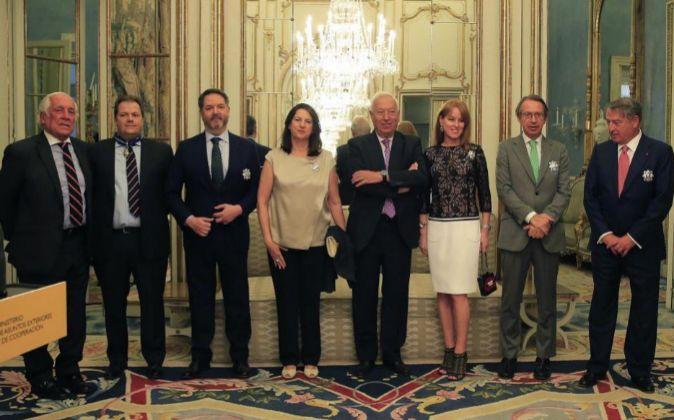 El alto comisionado del Gobierno para la Marca España, Carlos...