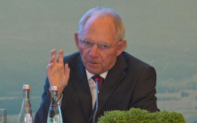 Wolfgang Schaeuble.
