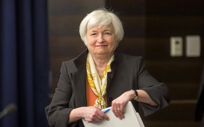 La presidenta de la Reserva Federal de EEUU (Fed), Janet Yellen.