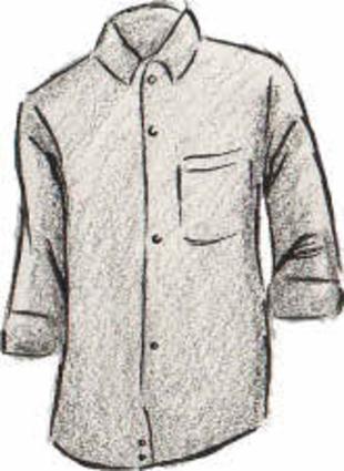 17be155230 Es preferible usar camisa de manga larga ligeramente remangada que una de  manga corta