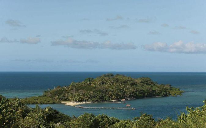 El hotel se encuentra un una isla de la micronesia.