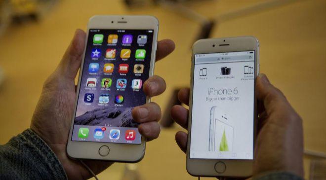 Teléfono iPhone.