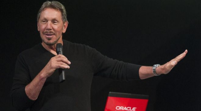 Larry Ellison, presdidente ejecutivo de Oracle.