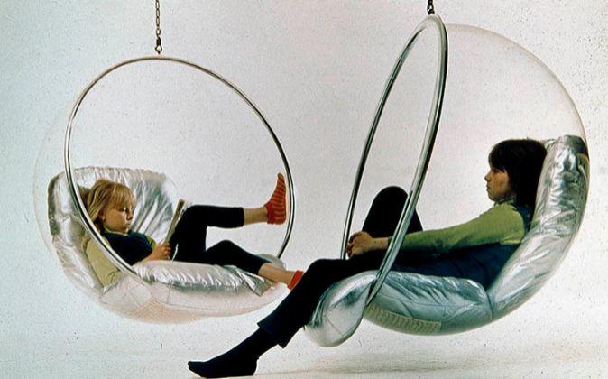 La Silla Burbuja es una creación de 1968.