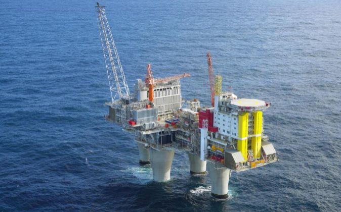 Plataforma petrolífera de la compañía noruega Statoil.
