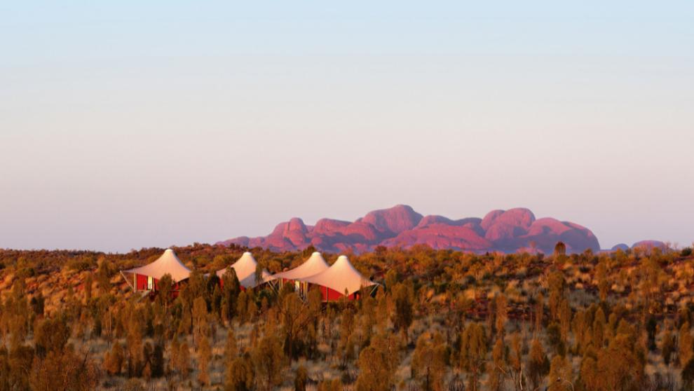 Glamping Longitude 131, Uluru en Australia