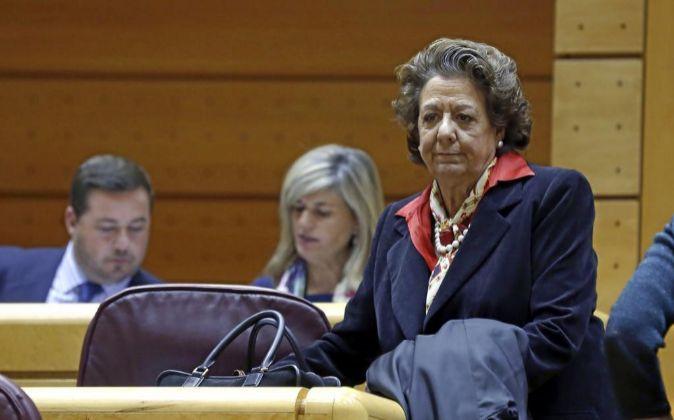 Rita Barberá, exalcaldesa de Valencia.