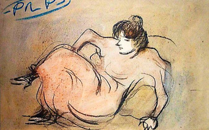 'Mujer recostada', de 1901, de Picasso. Tiene un precio de...