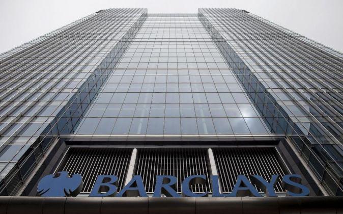 Sede de Barclays en Londres (Reino Unido).