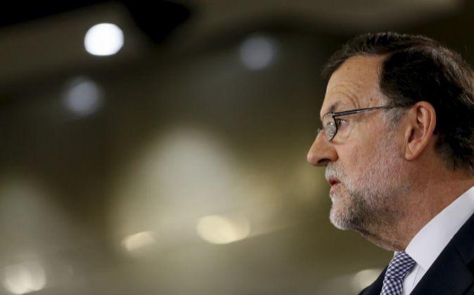 El presidente del Gobierno en funciones Mariano Rajoy.