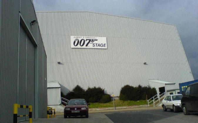 Uno de los estudios Pinewood dónde se ha rodado James Bond