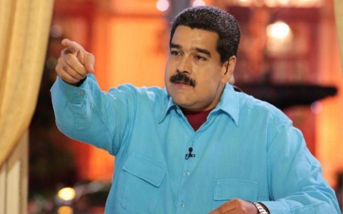 El presidente venezolano Nicolás Maduro.