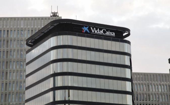 Sede de Vidacaixa en Barcelona.