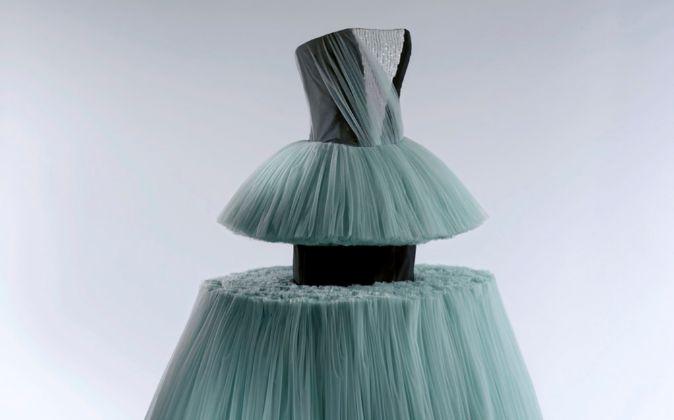Vestido de baile, de Viktor&Rolf, correspondiente a la primavera...