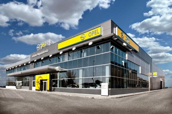 Concesionario de Opel en Majadahonda (Madrid).