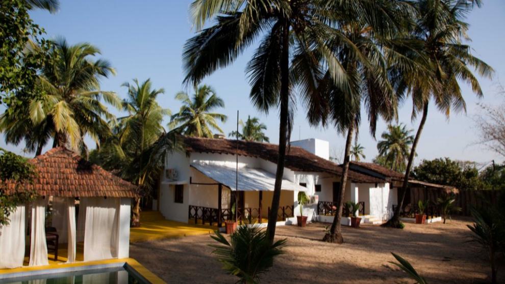 Camping Paros, en Goa, India
