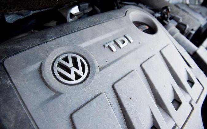 Motor diésel de Volkswagen.