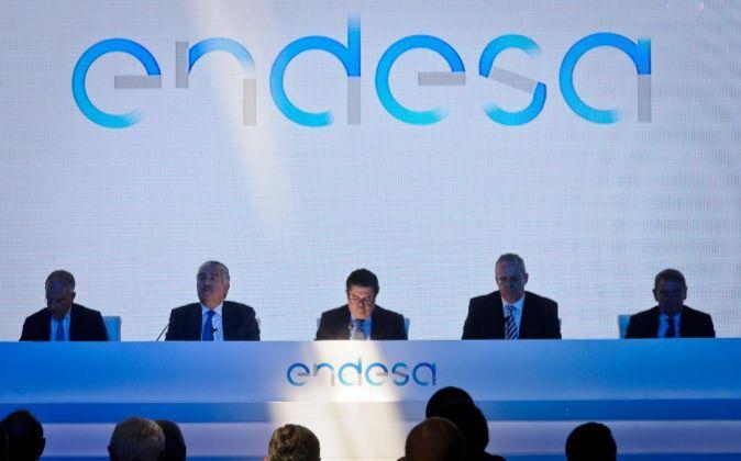 Junta de accionistas de Endesa.