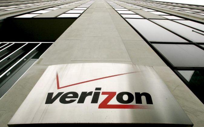 Logo de Verizon.