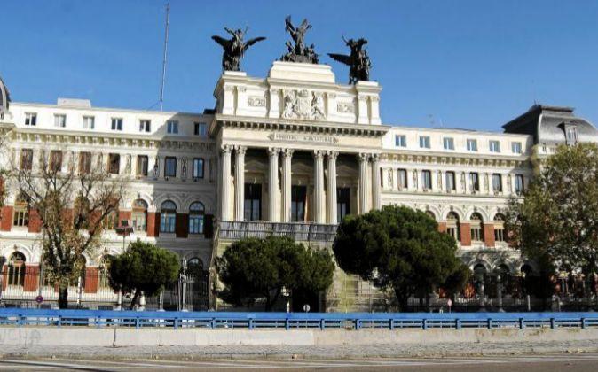Ministerio de Agricultura en Madrid.