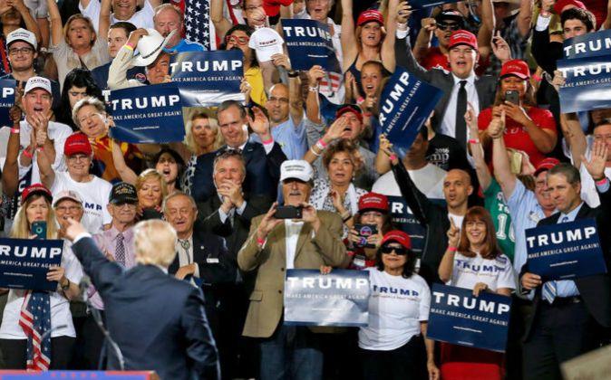 El éxito de Donald Trump en las primarias se basó en un mensaje...