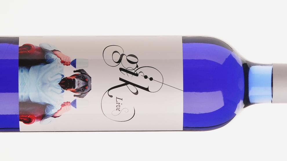 Gïk, el vino azul que ya no es vino