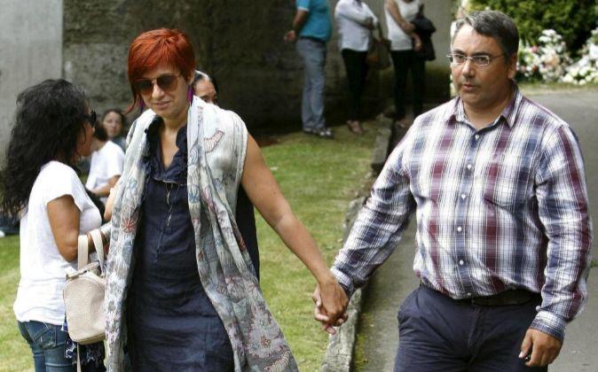 Sandra Ortega Mera y su marido, Pablo Gómez.