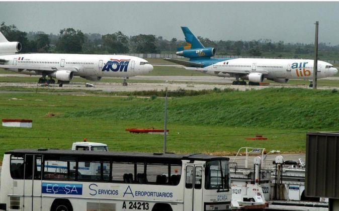 Aeropuerto internacional José Martí de La Habana.