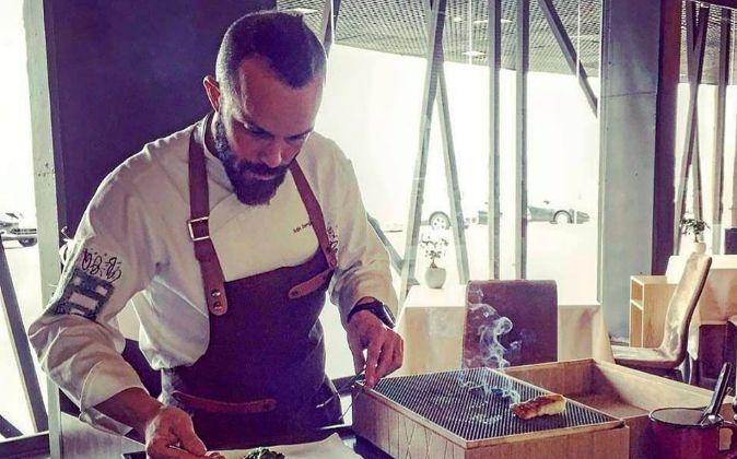 Iván Domínguez es jefe de cocina y director gastronómico de...