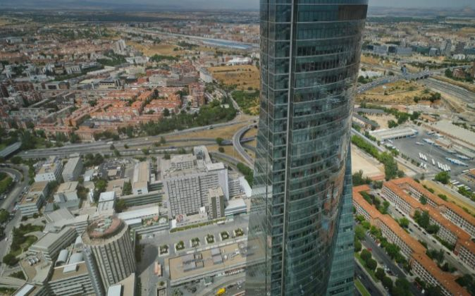Torre Espacio, en Madrid.
