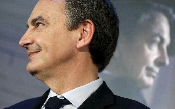 El expresidente de Gobierno José Luis Rodríguez Zapatero.