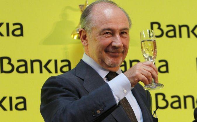 Rodrigo Rato, exvicepresidente del Gobierno y expresidente de Bankia.