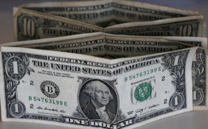 Imagen de billetes de dólar