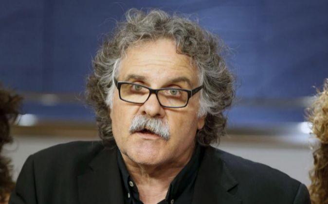 El portavoz del grupo de ERC Joan Tardà.