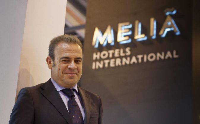Gabriel Escarrer Jaume, consejero delegado de Melia Hotels.