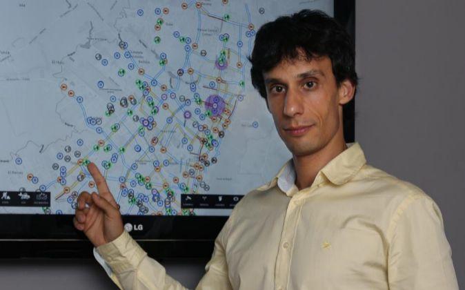 Ignasi Vilajosana (en la imagen) fundó Worldsensing junto a Mischa...