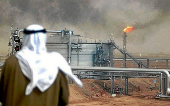 Imagen de instalaciones energéticas en Oriente Medio