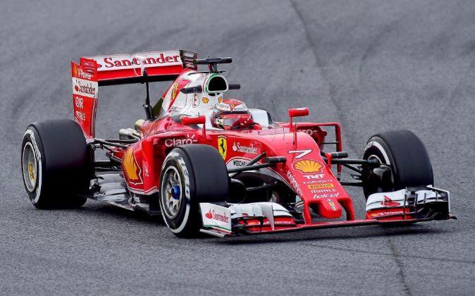 Santander llegó a la F1 en 2007 a través del equipo McLaren, en el...
