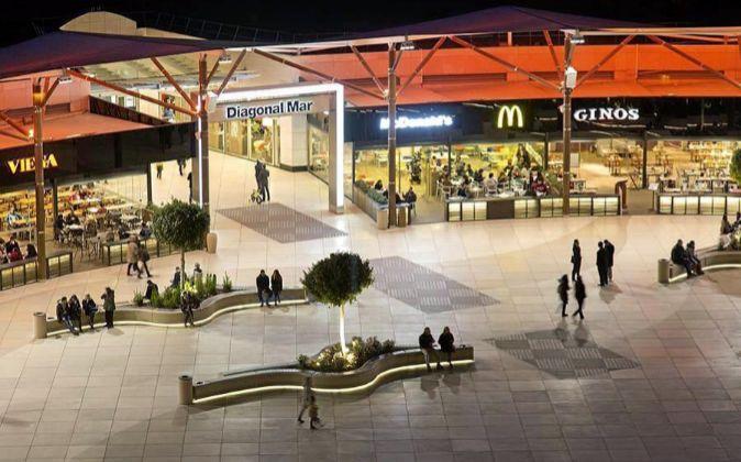 Centro comercial Diagonal Mar, en Barcelona