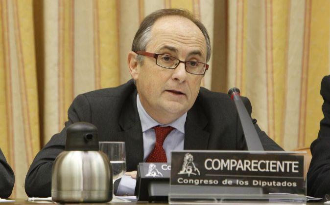 El presidente del Frob, Fernando Restoy, que a partir de enero...