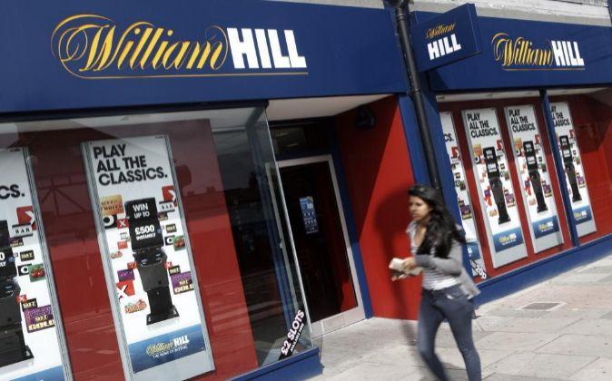 Local de apuestas de William Hill en el Reino Unido.