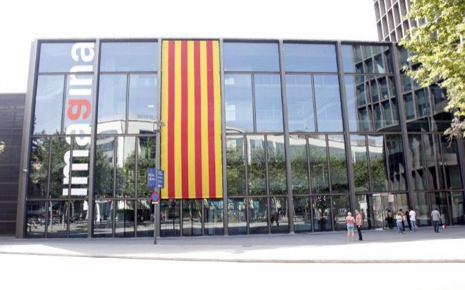 Edificio Imagina, sede de Mediapro en Barcelona.