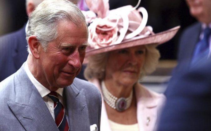 El príncipe de Gales y su esposa aseguraron encontrarse...
