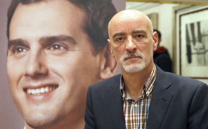 Nicolás de Miguel, el nuevo candidato a lehendakari por Ciudadanos.
